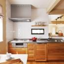 横浜市K様邸 ~Smooth Life~の写真 一部対面式の広々キッチン