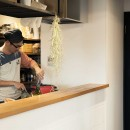 What's UP?~ラフに気軽に日々を楽しむ、家具とロックの似合う住まい~の写真 キッチン