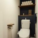 What's UP?~ラフに気軽に日々を楽しむ、家具とロックの似合う住まい~の写真 トイレ