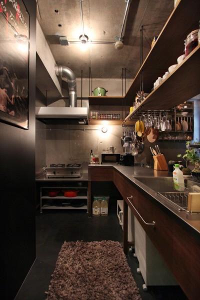キッチン (飾り付けながら暮らす、ヴィンテージ)