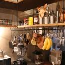 飾り付けながら暮らす、ヴィンテージの写真 キッチン