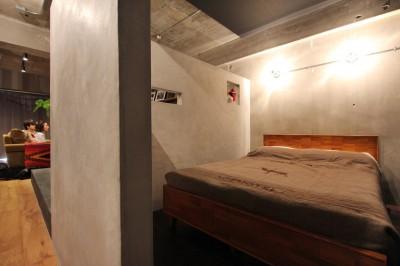 ベッドルーム (飾り付けながら暮らす、ヴィンテージ)