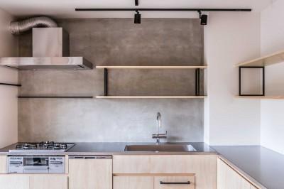 キッチン (FEEL~美しいものに触れ大切にする、子供へ感性を伝える住まい~)