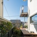 トムジェリ 二人の距離を調整する家の写真 1階の回遊テラス