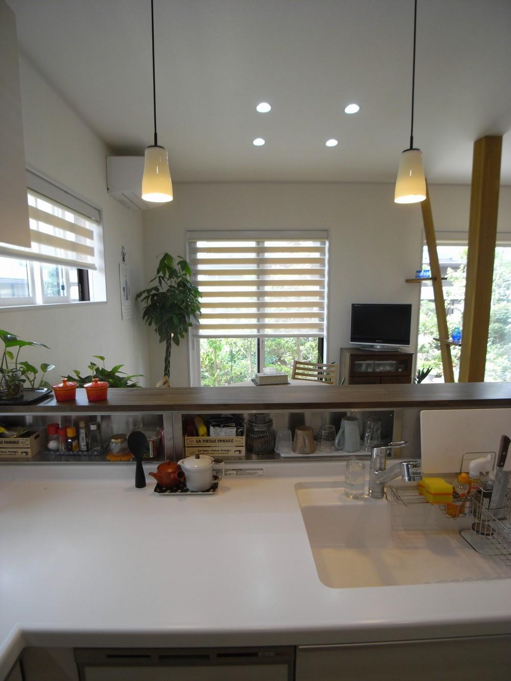 キッチン (『明日 どこ行く?』 ~会話が増えて30年目の新婚気分~)