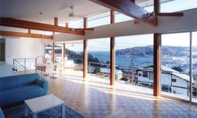 百景楼-海の別荘 (リビングよりの眺望)