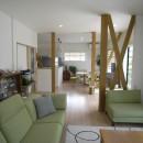 スイコー一級建築士事務所の住宅事例「『明日 どこ行く?』 ~会話が増えて30年目の新婚気分~」