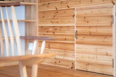 ウッドサイディング (nest~好きなモノやコトの集合体、入れ子(=nest)のような住まい~)