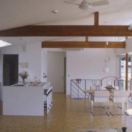 百景楼-海の別荘 (アイランドカウンターのあるキッチン)