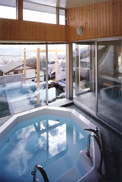 百景楼-海の別荘の部屋 海を望むジャグジー