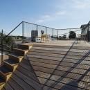 屋上の家の写真 屋上