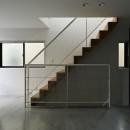 屋上の家の写真 階段