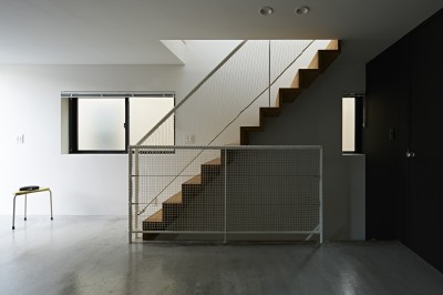 屋上の家 (階段)