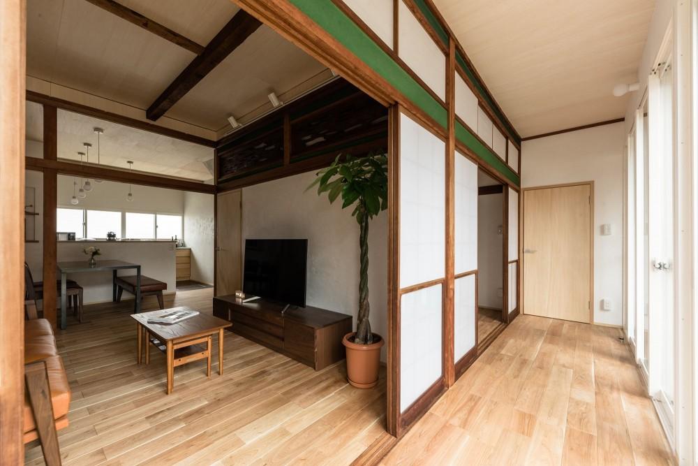 築48年戸建リノベ|既存を活かした金沢の住まい (多目的かつ多機能な縁側というゆとり空間)