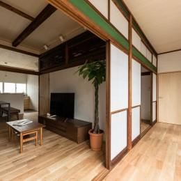 多目的かつ多機能な縁側というゆとり空間 (築48年戸建リノベ|既存を活かした金沢の住まい)