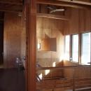 両親が建てた家をリノベして住み継ぐ|Sumire houseの写真 ワークスペース・吹き抜け