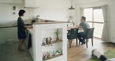キッチン1 (SOU (リノベーション))