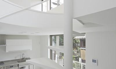 長窓の家 (LDK)