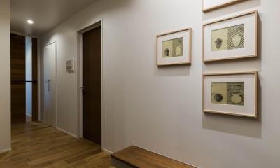 現代アートが生きるアーバンペントハウス