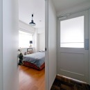 自然体でつくるかっこいい家の写真 寝室