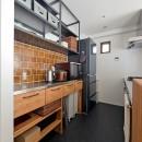 自然体でつくるかっこいい家の写真 キッチン