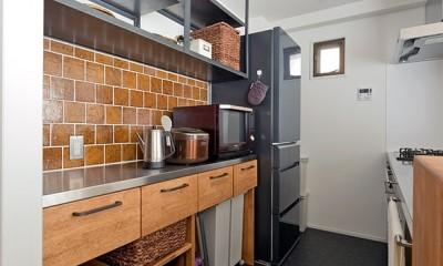 自然体でつくるかっこいい家 (キッチン)