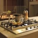 ルーフバルコニーにリビングを移動させた目黒の家の写真 キッチン