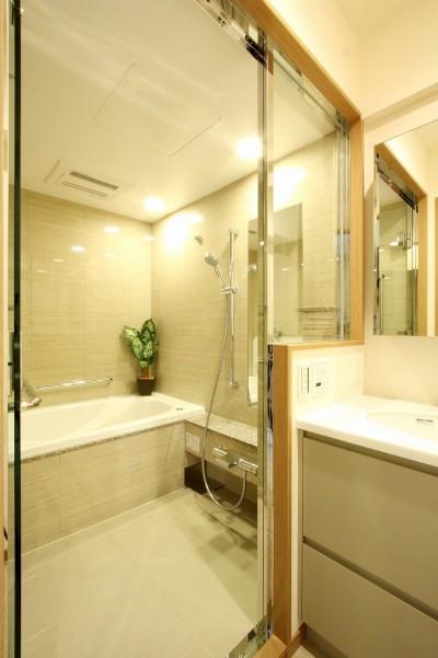 バスルーム (広々とした高級感たっぷりの賃貸住宅)
