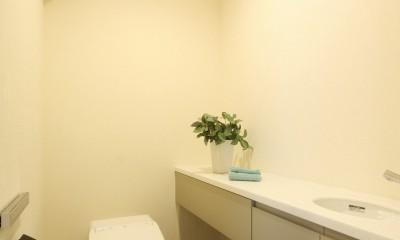 広々とした高級感たっぷりの賃貸住宅 (トイレ)