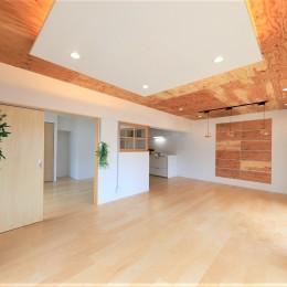 中古マンション・フルリノベーション_001「木の暖かみにあふれた優しい家」