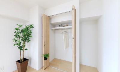 中古マンション・フルリノベーション_001「木の暖かみにあふれた優しい家」 (001「木の暖かみにあふれた優しい家」洋室01)
