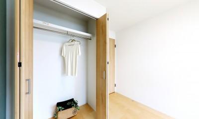 中古マンション・フルリノベーション_001「木の暖かみにあふれた優しい家」 (001「木の暖かみにあふれた優しい家」洋室02)