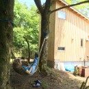 OUR CABIN OUR DIY~直営、DIYで小屋をつくる~の写真 ハンモック