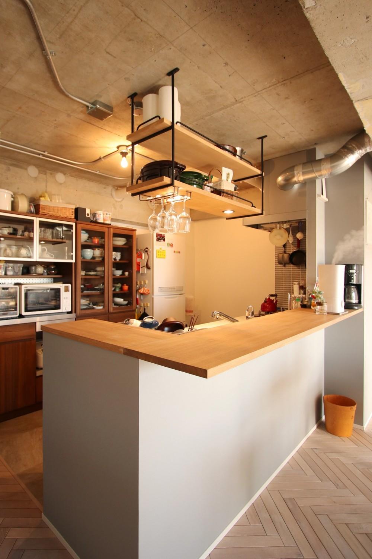 つながりのある家 (キッチン)