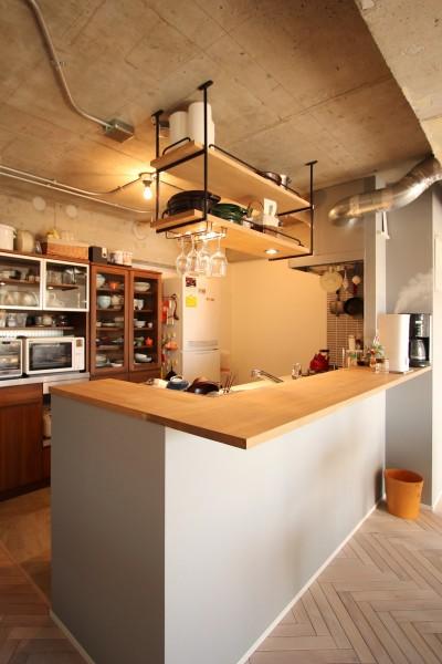 キッチン (つながりのある家)