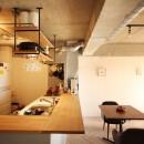 つながりのある家の写真 ダイニングキッチン