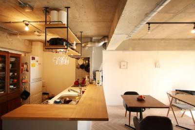 ダイニングキッチン (つながりのある家)