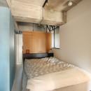 つながりのある家の写真 ベッドルーム