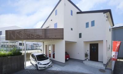 無垢材と珪藻土の湘南スタイルの家