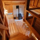 OUR CABIN OUR DIY~直営、DIYで小屋をつくる~の写真 木構造現し