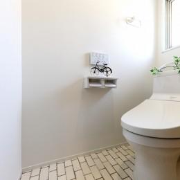 中古マンション・フルリノベーション_001「木の暖かみにあふれた優しい家」 (001「木の暖かみにあふれた優しい家」トイレ)