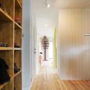 キニナルキ~絶対広いルーフバルコニー!玄関開けたらクローゼット、海外ドラマのようなお部屋に~の写真 玄関