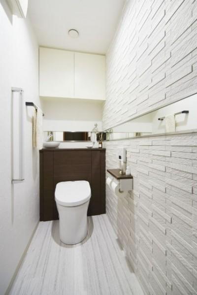 トイレ (憧れのエレガントモダンな空間)