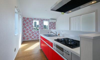 赤の部屋LDK|Kengington House(ケンジントンハウス)