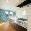 Kengington House(ケンジントンハウス)の写真 青の部屋