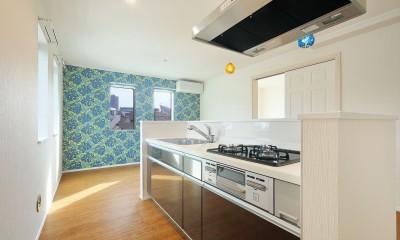 青の部屋|Kengington House(ケンジントンハウス)
