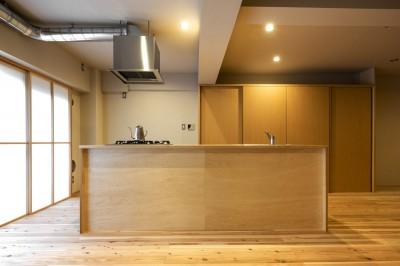 キッチン (ヒトツナギの住まい)
