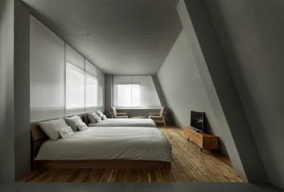 目白通りのアパートメントホテル Ⅰ (ベッドルーム)