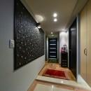 ナサホーム NasaHomeの住宅事例「こだわりの内装と付け梁で憧れの南国リゾートホテル風の住まいへ」