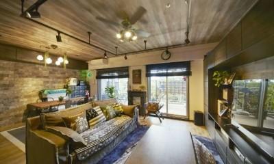 お気に入りの雑貨に囲まれたニューヨークカフェスタイルのお家